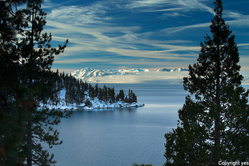 The Thunderbird Lodge on the east shore of Lake Tahoe, NV