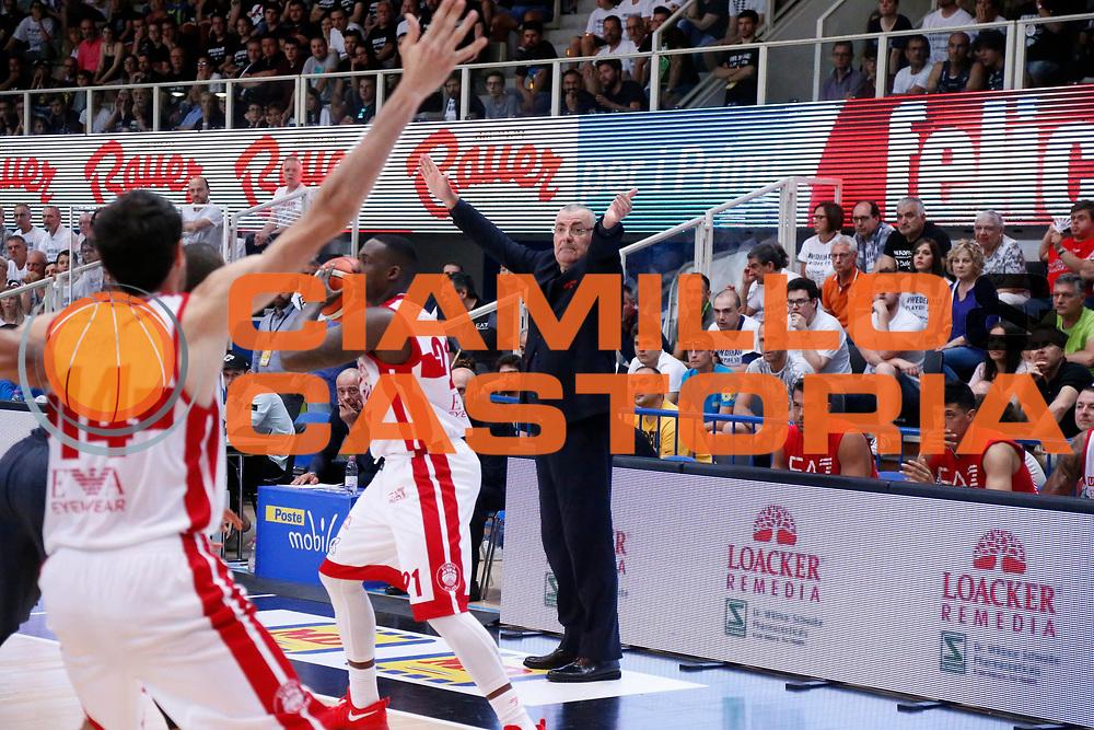 Jasmin Repesa<br /> Dolomiti Energia Aquila Basket Trento - EA7 Emporio Armani Olimpia Milano<br /> Semifinale Gara 4, Lega Basket Serie A 2016/2017<br /> PalaTrento 31/05/2017<br /> Foto Ciamillo-Castoria / M.Brondi