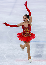 23-02-2018 KOR: Olympic Games day 14, PyeongChang<br /> Ladies Single Skating Free Skating / Gold medal for Alina Zagitova RUS
