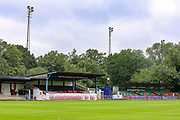 General view of the Beveree Stadium ahead of the Pre-Season Friendly match between Hampton & Richmond and AFC Wimbledon at Beveree Stadium, Richmond Upon Thames, United Kingdom on 27 July 2019.