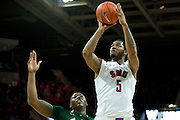 DALLAS, TX - JANUARY 15: Markus Kennedy #5 of the SMU Mustangs shoots the ball against the South Florida Bulls on January 15, 2014 at Moody Coliseum in Dallas, Texas.  (Photo by Cooper Neill/Getty Images) *** Local Caption *** Markus Kennedy