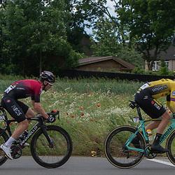 08-06-2019: Wielrennen: Hammer Series Sprint: Sittard<br /> Owain Doull, Jos van Emden