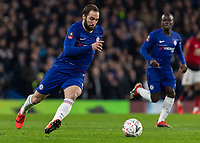 Football - 2018 / 2019 Emirates FA Cup - Fifth Round: Chelsea vs. Manchester United <br /> <br /> Gonzalo Higuain (Chelsea FC) runs onto the loose ball at Stamford Bridge<br /> <br /> COLORSPORT/DANIEL BEARHAM