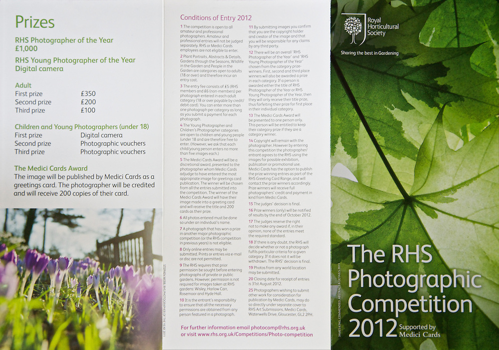 My Lime Maple 2 image has been used on the front cover <br /> of the RHS Photographic Competition 2012 leaflet.<br /> <br /> Royal Horticultural Society RHS Photographic Competition 2011<br /> Commended - Abstract &amp; Details.