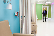 The new Diane Max Health Center of Planned Parenthood in Long Island City designed by architect Stephen Yablon. <br /> <br /> The recovery area. <br /> <br /> <br /> Danny Ghitis for The New York Times