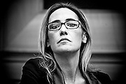 Rome jan 19th 2016, press conference to present the proposal to set up a commission of inquiry on the subject of ill-treatment and abuse of persons in conditions of deprivation or limitation of personal freedom. In the picture Ilaria Cucchi, the woman who is fighting to learn the truth about the death of his brother Stefano Cucchi, died while in custody in jail