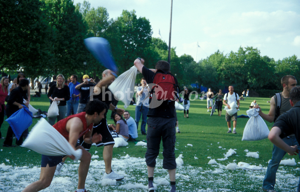 The Great pillow fight; 6th June