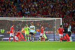 LILLE, FRANCE - Friday, July 1, 2016: Belgium's Marouane Fellaini looks dejected after missing a chance against Wales during the UEFA Euro 2016 Championship Quarter-Final match at the Stade Pierre Mauroy. (Pic by David Rawcliffe/Propaganda)
