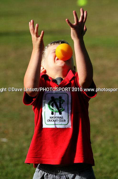 NCC cricket supercamp at Anderson Park, Wellington. Thursday, 5 March 2009. Photo: Dave Lintott/PHOTOSPORT