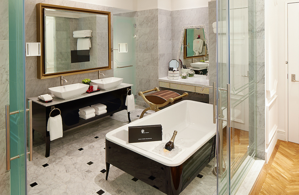 Interior of the new SofitelSo in Singapore