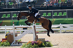 Kirchhoff Ulrich, UKR, Prince de la Mare<br /> owner of the horse of Jerome with arms in the air<br /> Olympic Games Rio 2016<br /> © Hippo Foto - Dirk Caremans<br /> 14/08/16