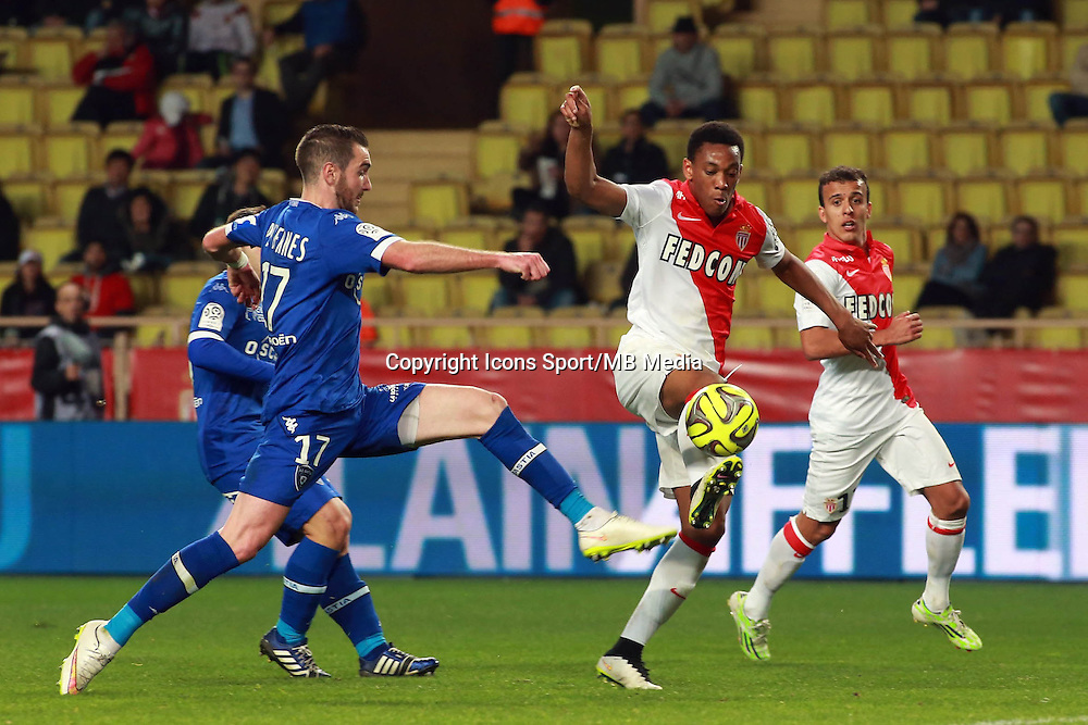 Anthony MARTIAL  - 13.03.2015 -   Monaco / Bastia -  29eme journee de Ligue 1 <br />