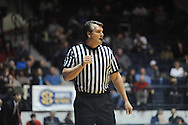 "Referee Doug Shows at Ole Miss vs. Texas A&M Aggies  at the C.M. ""Tad"" Smith Coliseum in Oxford, Miss. on Wednesday, February 4, 2015. Mississippi won 69-59. (AP Photo/Oxford Eagle, Bruce Newman)"