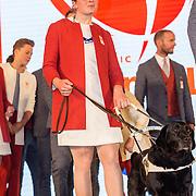 NLD/Scheveningen/20160713 - Perspresentatie sporters voor de Olympische Spelen 2016 in Rio de Janeiro, Larissa Klaassen