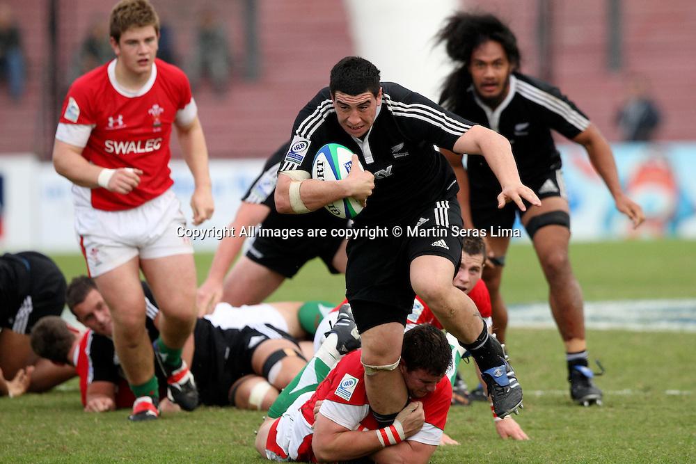 Jeff Allen - New Zealand 43 v 10 Wales - 13th June 2010 - C A Colon - Santa Fe - Photo : Martin Seras Lima