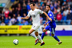 Jack Cork of Burnley is marked by Victor Camarasa of Cardiff City - Mandatory by-line: Ryan Hiscott/JMP - 30/09/2018 -  FOOTBALL - Cardiff City Stadium - Cardiff, Wales -  Cardiff City v Burnley - Premier League