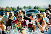 Guests at the NorthStar Winery Harvest Dinner