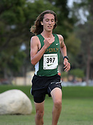 Nov 1, 2017; Long Beach, CA, USA; Jack Raymond of Long Beach Poly places second in 15:14 during the Moore League cross country finals at Heartwell Park.