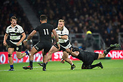 Twickenham, Surrey. England.  Akker van der MERWE,  during the Killik Cup, Barbarians vs New Zealand. Twickenham. UK<br /> <br /> Saturday  04.11.17<br /> <br /> [Mandatory Credit Peter SPURRIER/Intersport Images]