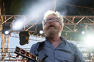 Playing their first show since St. Patrick's Day, Flogging Molly brings down the house Saturday afternoon at the Beale Street Music Festival in Memphis, Tennessee.