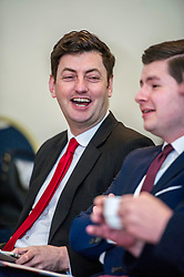 Pictured: Councillor Cammy Day<br /> Scottish Labour deputy leader Alex Rowley was joined by Edinburgh City Council leader Andrew Burns at the Serenity Cafe in Edinburgh today to launch the party's local government election manifesto. <br /> Ger Harley | EEm 21 March 2017