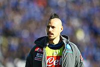 Atalanta-Napoli - Serie A 2017-18 - 21a giornata - Nella foto: Marek Hamsik - Napoli Calcio Serie A