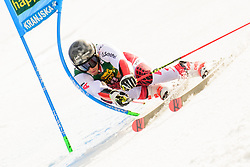 March 9, 2019 - Kranjska Gora, Kranjska Gora, Slovenia - Magnus Walch of Austria in action during Audi FIS Ski World Cup Vitranc on March 8, 2019 in Kranjska Gora, Slovenia. (Credit Image: © Rok Rakun/Pacific Press via ZUMA Wire)