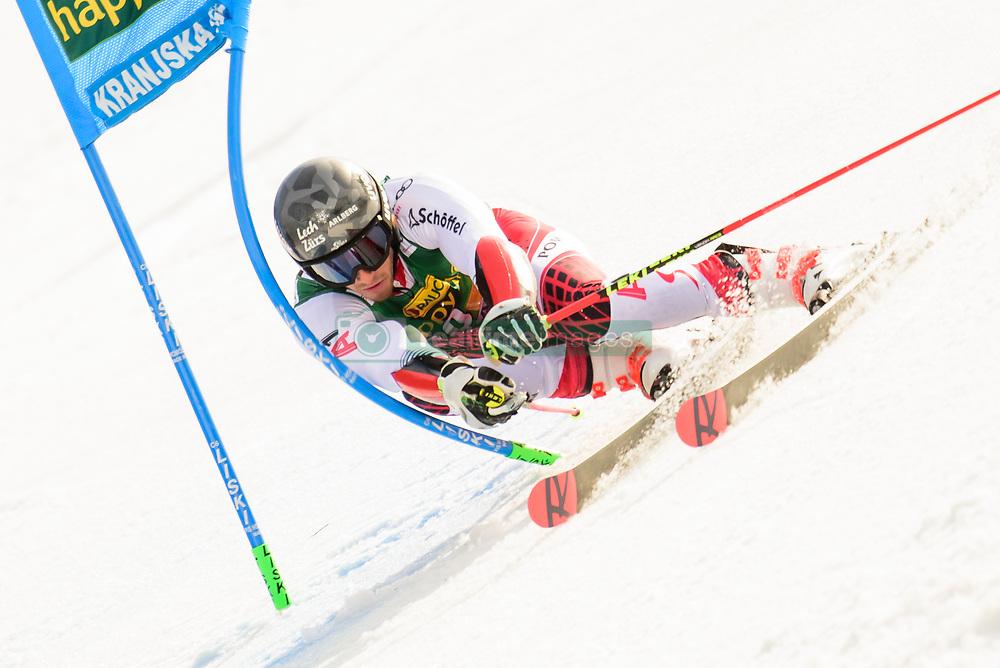 March 9, 2019 - Kranjska Gora, Kranjska Gora, Slovenia - Magnus Walch of Austria in action during Audi FIS Ski World Cup Vitranc on March 8, 2019 in Kranjska Gora, Slovenia. (Credit Image: © Rok Rakun/Pacific Press via ZUMA Wire)