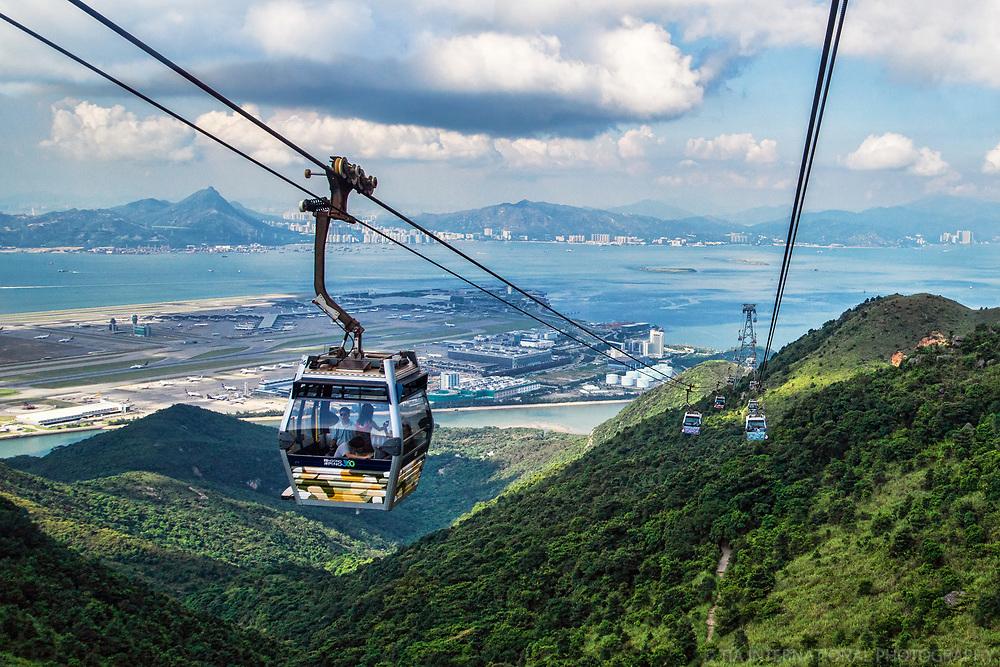Ngong Ping Cable Car (Skyrail 360) & HK International Airport (Chek Lap Kok)
