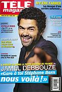 Jamel Debbouze/ humoriste/ acteur et producteur francais et marocain. Apres Florence Foresti/ M6 a propose a Elie Semoun de reunir ses amis sur scene/ en prime time et en direct/ depuis le Trianon.  Paris/FRANCE-le 05/01/12<br /> Ref: 630624_000037