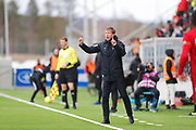OSTERSUND, SWEDEN - APRIL 21: Graham Potter, head coach of Ostersunds FK during the Allsvenskan match between Ostersunds FK and Orebro SK at Jamtkraft Arena on April 21, 2018 in Ostersund, Sweden. Photo by Nils Petter Nilsson/Ombrello ***BETALBILD***