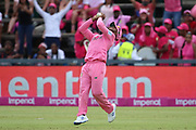 Temba Bavuma catches during the One Day International match between South Africa and England at Bidvest Wanderers Stadium, Johannesburg, South Africa on 9 February 2020.