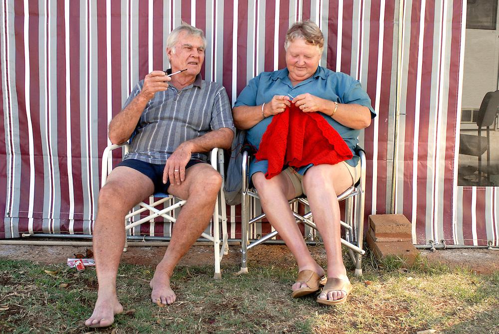 Brian & Margaret Marsden - Laverton Caravan Park Western Australia