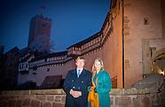 dag 1 Koning Willem-Alexander en Koningin Maxima brengen een werkbezoek aan de Duitse