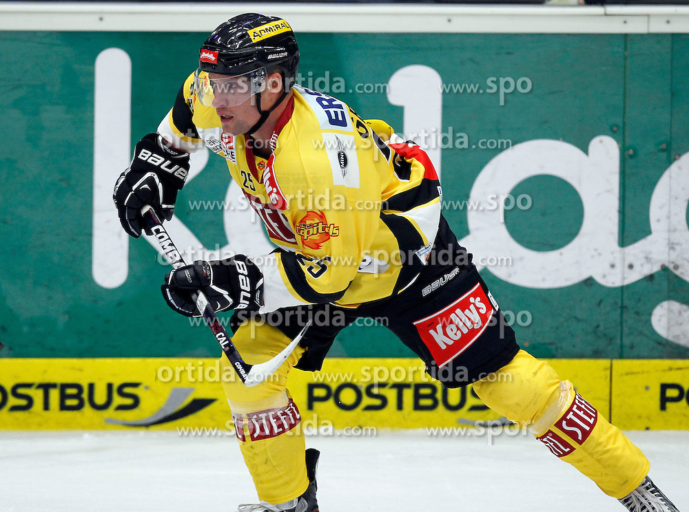 14.09.2012, Stadthalle, Villach, AUT, EBEL, EC VSV vs UPC Vienna Capitals, 03. Runde im Bild Benoit Gratton (Capitals,#25) // during the Erste Bank Icehockey League 03rd Round match between EC VSV and UPC Vienna Capitals at the City Hall, Villach, Austria, 2012/09/14, EXPA Pictures © 2012, PhotoCredit: EXPA/ Oskar Hoeher