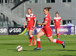 Bristol Academy's Loren Dykes in action against Sunderland AFC Ladies - Mandatory by-line: Paul Knight/JMP - 25/07/2015 - SPORT - FOOTBALL - Bristol, England - Stoke Gifford Stadium - Bristol Academy Women v Sunderland AFC Ladies - FA Women's Super League