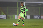 Forest Green Rovers Jordan Simpson(12) during the Gloucestershire Senior Cup match between Forest Green Rovers and U23 Bristol City at the New Lawn, Forest Green, United Kingdom on 9 April 2018. Picture by Shane Healey.