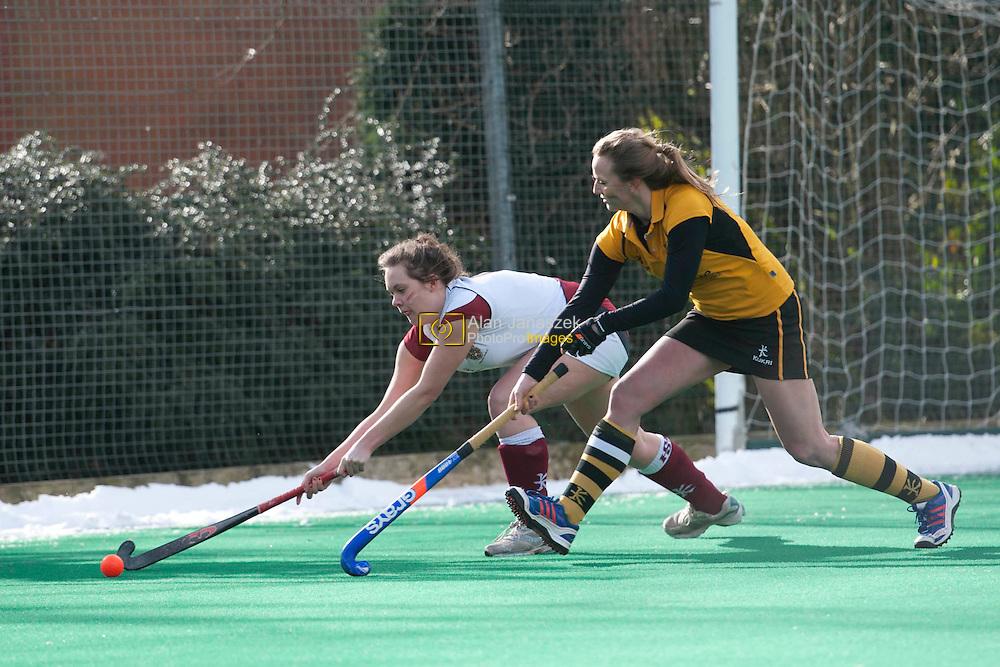 Varsity 2013 University of Sheffield Womens Hockey v Sheffield Hallam University Womens Hockey