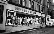 Entrants in the 'Darling Girls from Clare' at Dunnes Stores, Georges Street, Dublin..25.07.1965