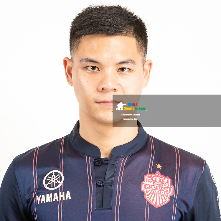 THAILAND - JUNE 26: Narubadin Weerawatnodom #15 of Buriram United on June 26, 2019.<br /> .<br /> .<br /> .<br /> (Photo by: Naratip Golf Srisupab/SEALs Sports Images/MB Media Solutions)