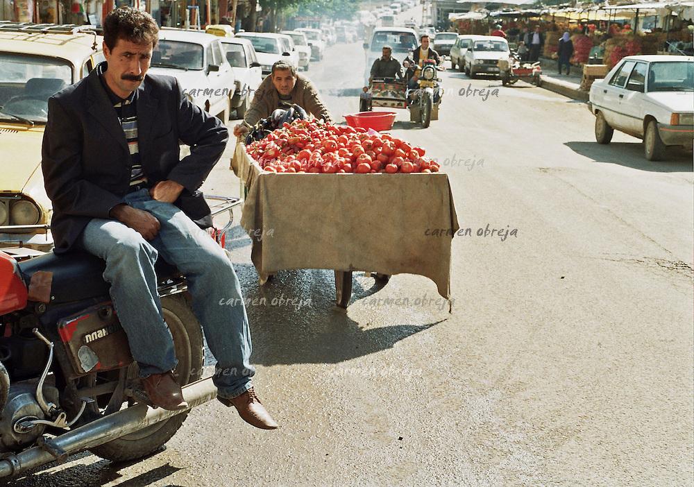 street scene near the market in Sanliurfa