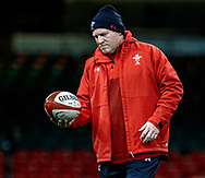 Neil Jenkins, Kicking Coach of Wales<br /> <br /> Photographer Simon King/Replay Images<br /> <br /> Six Nations Round 5 - Wales v Ireland Captains Run - Saturday 15th March 2019 - Principality Stadium - Cardiff<br /> <br /> World Copyright © Replay Images . All rights reserved. info@replayimages.co.uk - http://replayimages.co.uk