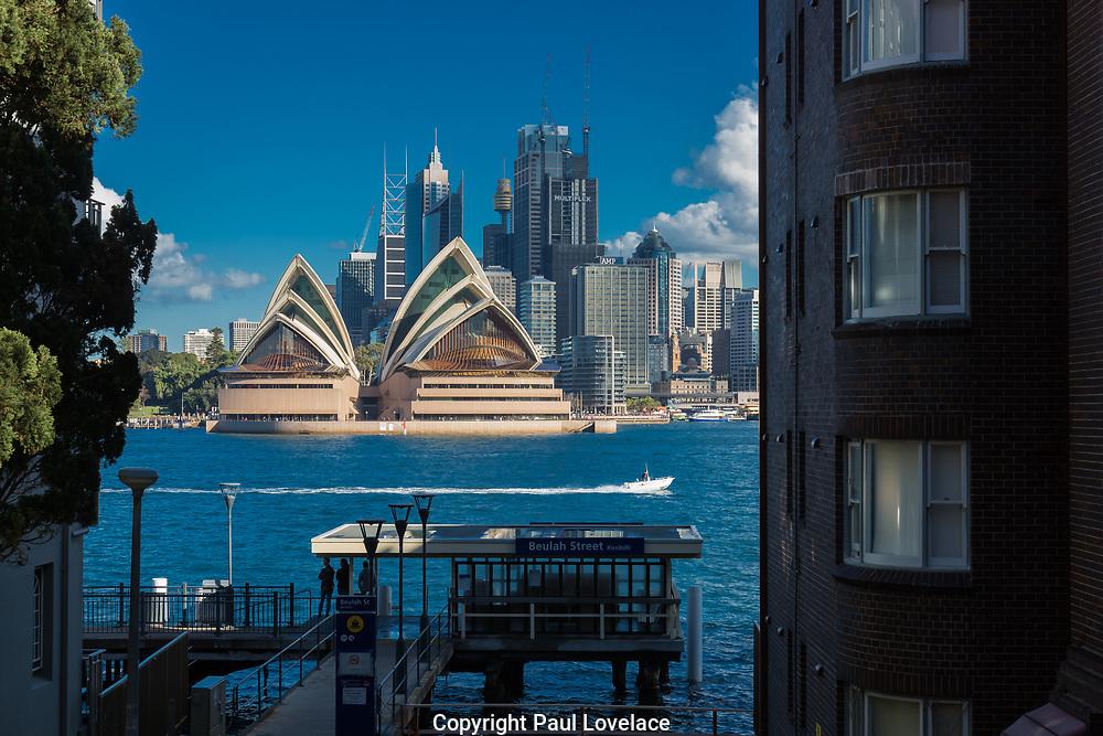 Art Deco Apartments, Kirribilli, Sydney, Australia.