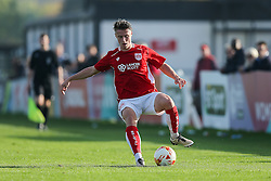 George Nurse of Bristol City U23 - Rogan Thomson/JMP - 31/10/2016 - FOOTBALL - SGS Wise Campus - Bristol, England - Bristol City U23 v Millwall U23 - U23 Professional Development League 2 (South Division).