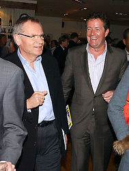 PIERS MORGAN and LORD ARCHER at a party to celebrate the publication on 'Confessions of a Dedicated Englishman' by David English held at the Lord's Tavern, St.John's Wood Road, London on 8th May 2006.<br />
