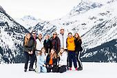 Fotosessie met de koninklijke familie in Lech 2020