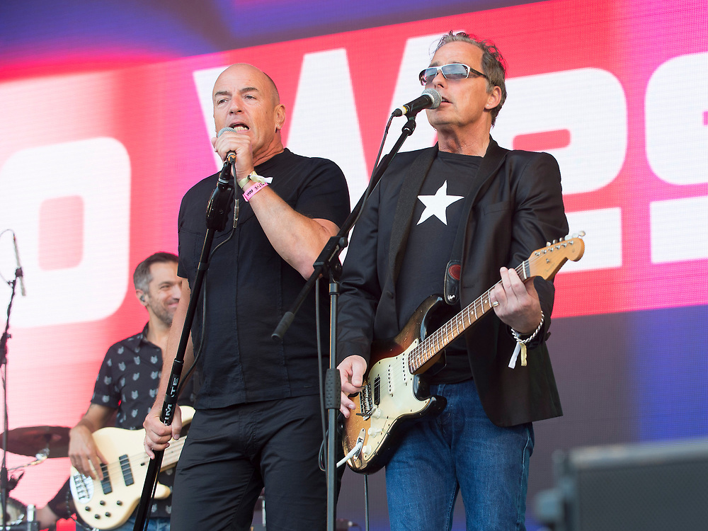 Go West in concert at Lets Rock Scotland, Dalkeith Country Park, Edinburgh, Great Britain 23rd June 2018