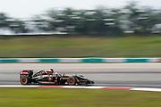 March 28, 2014 - Sepang, Malaysia. Malaysian Formula One Grand Prix. Romain Grosjean (FRA), Lotus-Renault<br /> <br /> © Jamey Price / James Moy Photography