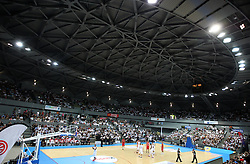 A general view of France v Canada, friendly basketball match in preparation for the European championships. Palais Des Sports, Toulouse, France, 27th July 2011.