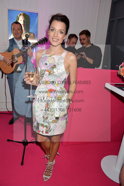 ROBYN ISHERWOOD at Light Up Your Life - a party hosted by Lillingston held at Lights of Soho, 35 Brewer Street, London on 1st October 2015.